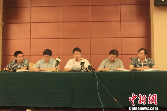 14日晚,江山市政府召开媒体见面会。