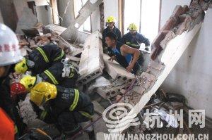 宾馆老板拆内墙欲建足浴房 挖塌楼房致6人被埋