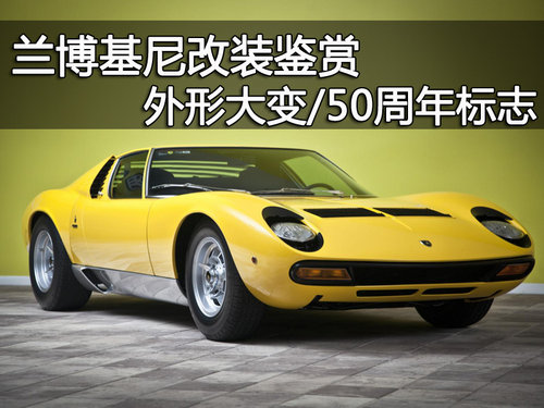 兰博基尼改装鉴赏 外形大变 50周年标志 中国联通 高清图片