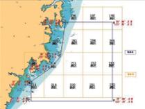 禁航禁渔区示意图