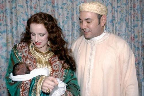 摩洛哥国王穆罕默德六世、王妃萨尔玛