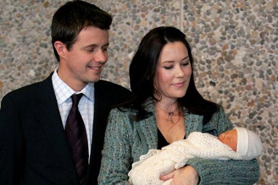 丹麦王储弗雷德里克与王妃玛丽