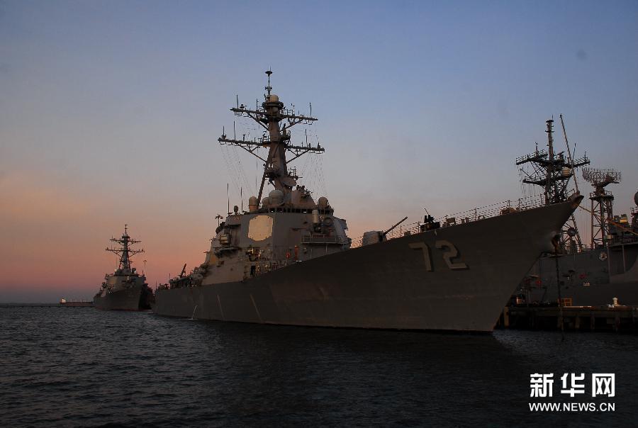 (国际)(2)美国向叙利亚附近海域增派驱逐舰