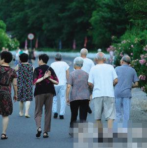 今年夏天在天目山避暑的杭州老人