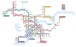 制图 高薇 地铁换乘站