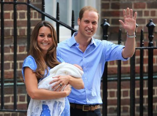 凯特王妃诞男婴