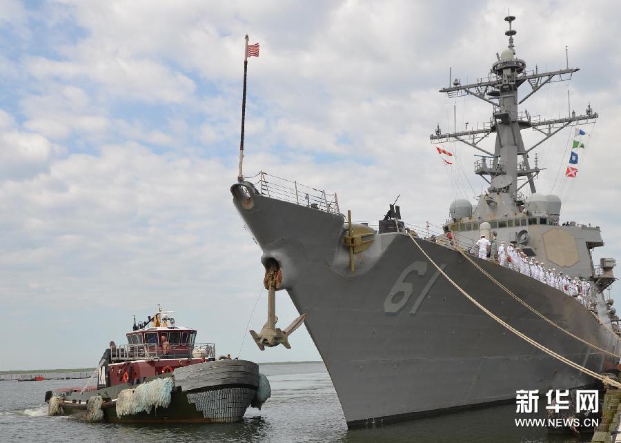 (国际)(5)美国向叙利亚附近海域增派驱逐舰