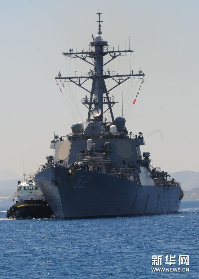(国际)(1)美国向叙利亚附近海域增派驱逐舰