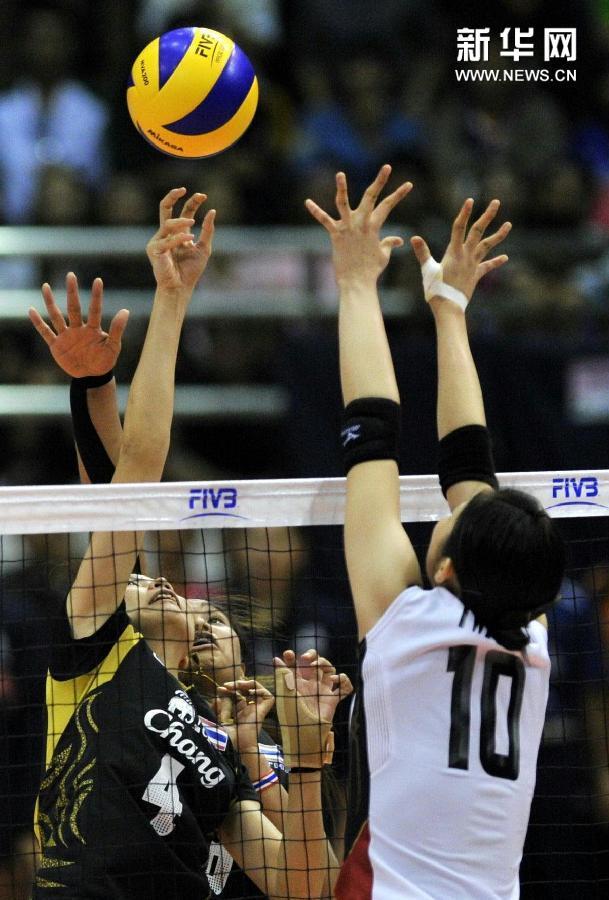 (体育)(5)排球——女排亚锦赛:泰国队夺冠