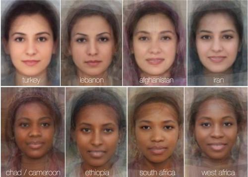 结果大部分均有无瑕肌肤和大眼睛,看起来全是20岁出头。