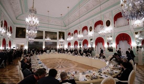 G20峰会晚宴商讨叙问题奥巴马姗姗来迟(图)