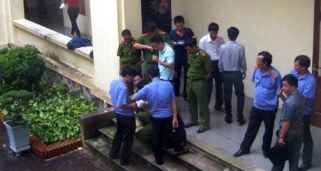 越南一男子因征地纠纷开枪打死官员后自杀(图)