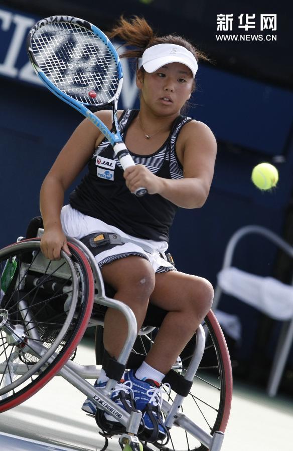 (体育)(3)网球——美网:网前的力量 轮上的风采