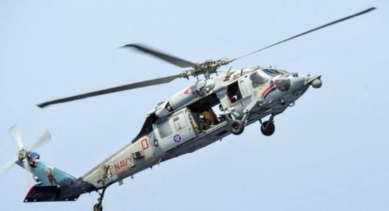 美军直升机在红海坠毁5名机组人员下落不明(图)