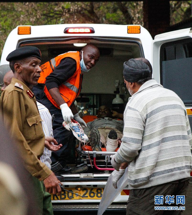 (国际)(10)肯尼亚购物中心袭击事件造成至少20人死亡