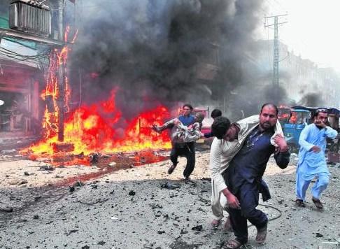一周内发生三起爆炸案巴基斯坦再死伤百余人(图)