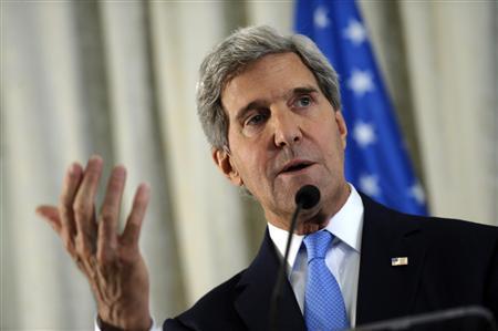 克里与巴勒斯坦领导人会谈强调美承诺促进和谈
