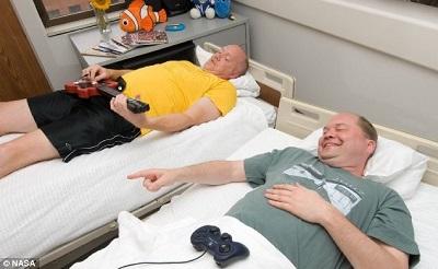 NASA招志愿者在床上躺70天月薪5000美元(图)