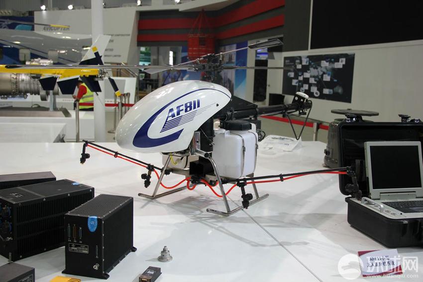 AF811小型无人直升机系统