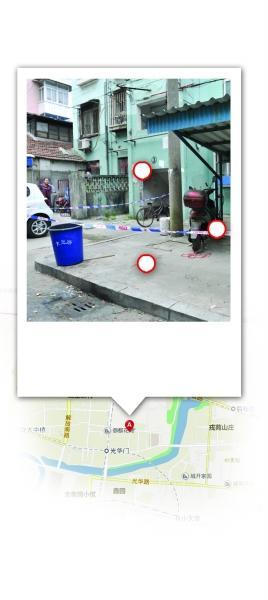 命案发生在南京市秦淮区蓝旗新村。