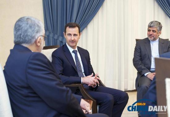 叙总统会见伊朗议员称叙不惧任何外部侵略(图)