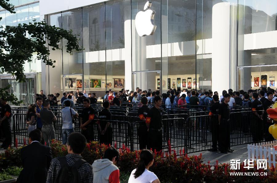 苹果新机型iphone5s/5c发售 再燃中日果粉热情