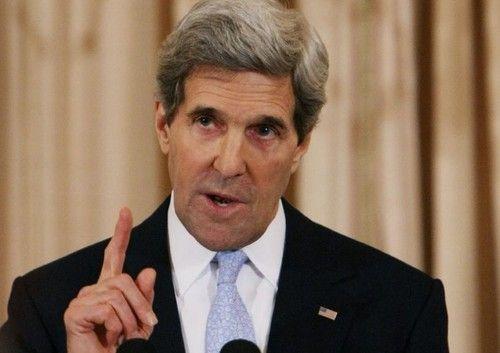 """克里讨论叙局势遭议员质疑怒称其""""乱嚼舌根"""""""