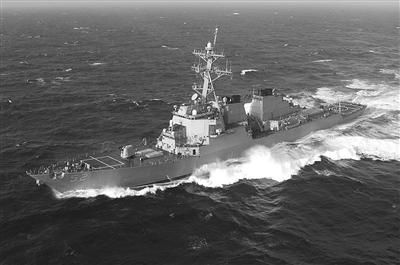 """美国在地中海部署5艘驱逐舰,其搭载的""""战斧""""导弹将成为打击叙利亚的利器。"""