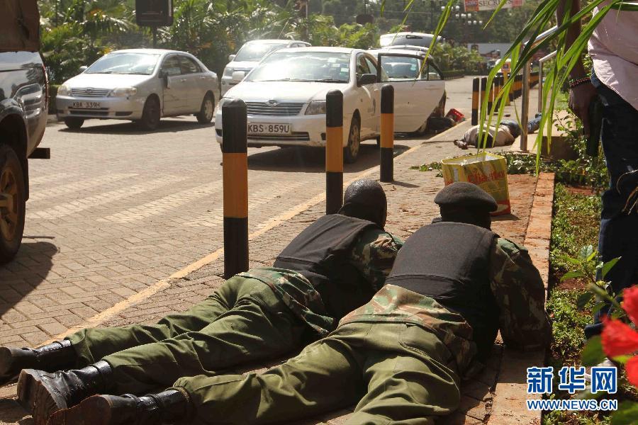 (国际)(8)肯尼亚购物中心袭击事件造成至少20人死亡