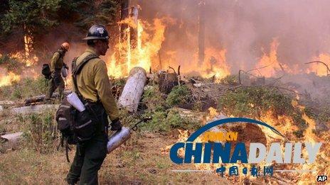 猎人非法生火引发美国国家公园火灾