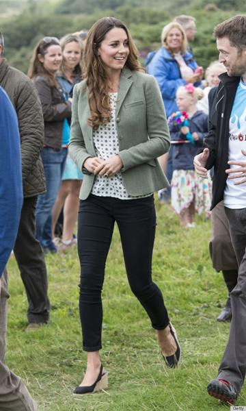 凯特王妃产后迅速瘦身