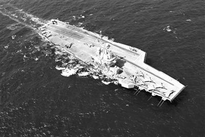 """法国的""""戴高乐""""号航空母舰已经抵达地中海海域,很可能会参与对叙军事行动。"""