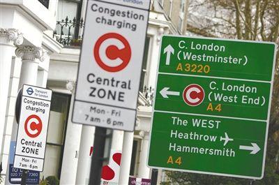伦敦收取拥堵费已十年市长曾向奥巴马索费