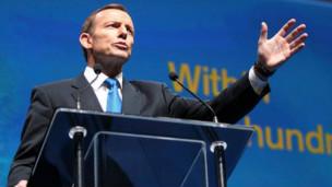 """阿博特赢得澳大利亚大选力推""""亚洲优先""""政策"""