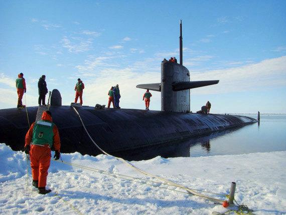 资料图:美国海军Providence SSN-719号核攻击潜艇。