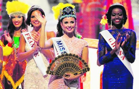 23岁的菲律宾佳丽梅甘·扬成为本年度的世界小姐。