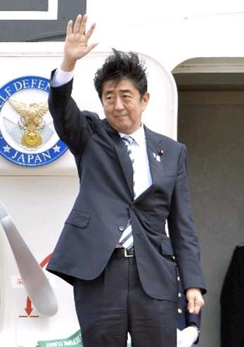 """安倍启程前往G20及IOC大会启环球""""弹丸之旅"""""""
