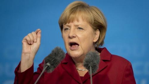 德国大选选情紧绷默克尔忙向选民写信拉票(图)
