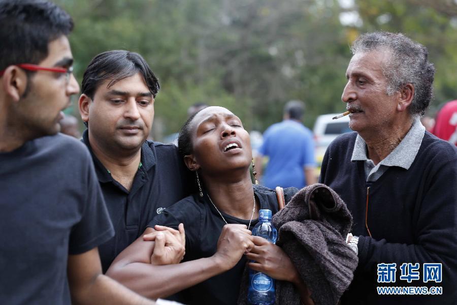 (国际)(5)肯尼亚购物中心袭击事件造成至少20人死亡
