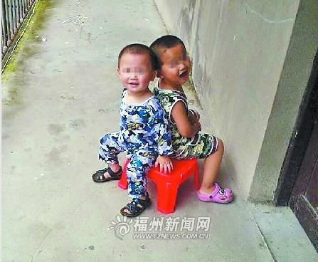 两男孩生前照片