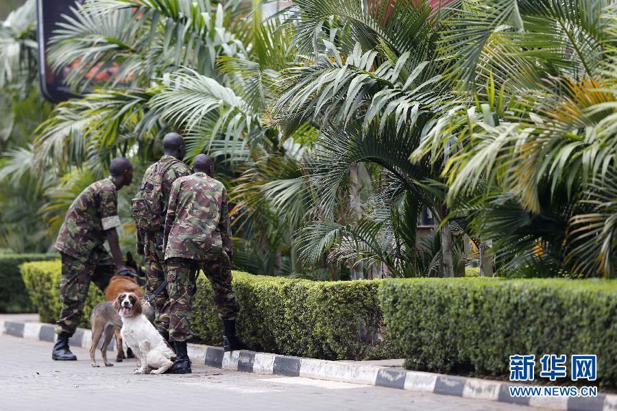 (国际)(3)肯尼亚购物中心袭击事件造成至少20人死亡
