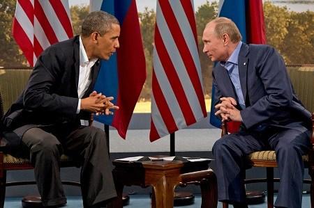 """俄总统普京否认与奥巴马""""交恶""""赞其为人直率"""
