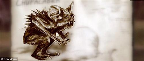 猎人捕获疑似吸血怪兽外形像狗眼睛鲜红(组图)(4)