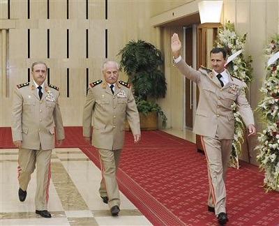 叙利亚否认前国防部长叛逃传闻称其仍在家中