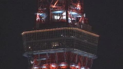 东京塔升降梯玻璃突然破碎6岁男孩被割伤(图)