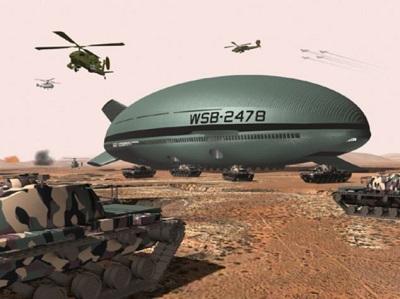 美企研制巨型飞船可在无机场跑道情况下升降