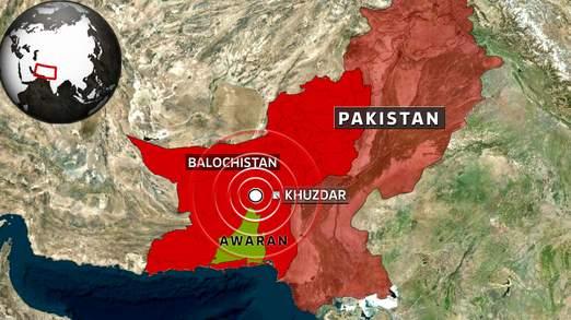 巴基斯坦地震灾区再发6.8级地震致至少15人死亡