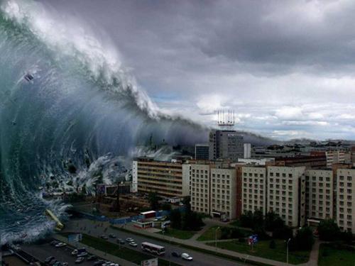 研究称阿拉斯加若发生9.1级强震海啸将吞噬加州