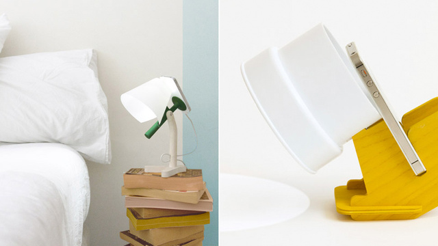 These Clever Docks Turn Your iPhone\'s Flash Into a Bedside Lamp