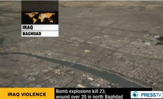 伊拉克首都发生3起炸弹袭击致23人死亡数十伤